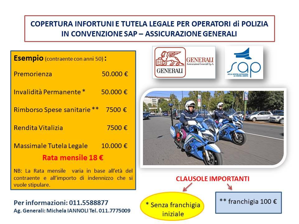 POLIZZA INFORTUNI E TUTELA LEGALE